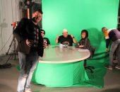 יום צילומים לסדרת רשת עם מרצה דני רייספלד