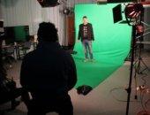 יום צילומים לסדרת רשת עם מרצה דני רייספלד3
