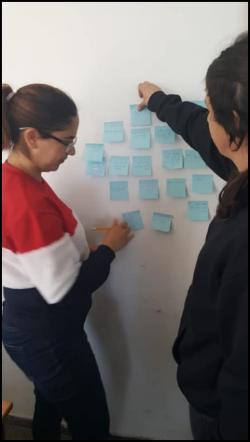 ממפים מעשי נתינה שלנו לאחרים ושל אחרים לנו כחלק מהטמעת עקרונות הפסיכולוגיה החיובית בקורס לפסיכולוגיה התפתחותית