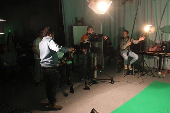 יום צילומים לסדרת רשת עם מרצה דני רייספלד4