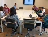מרכז כנרת לחדשנות ויזמות - חדר ישיבות