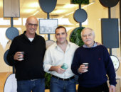 Elad with group in Innovation Center