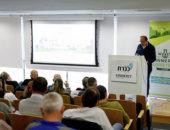 Menash Shalom speaking